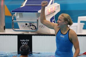 Ruta Meilutyte says she took great pleasure in returning to action in the short course world championships in Istanbul in December.