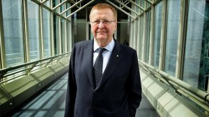 John Coates, President of the Australian Olympic Committee. Picture: Kym Smith Source: News Limited
