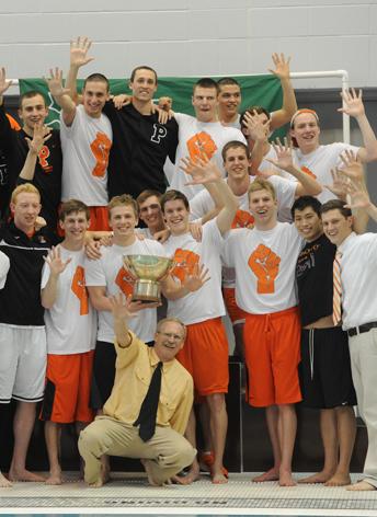 Princeton wins men s swimming diving title zwemza - Princeton university swimming pool ...