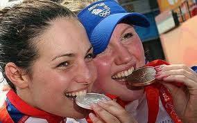 Beijing 2008 : Keri-anne Payne and Cassie Patton