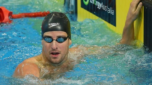 "James Magnussen: ""I think I'm just learning slowly to relax and enjoy the experience more."" Photo: Getty Images"
