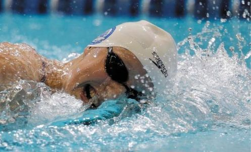 Katie Ledecky could become the first U.S. woman to swim the longest freestyle events at the worlds since Shirley Babashoff in 1976. (DARRON CUMMINGS/THE ASSOCIATED PRESS)