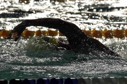 WSC swimmer