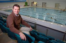 Jamie Salter, pictured here in his native Britain, will join Swimming Australia later in 2013