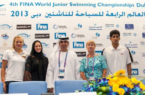 4th Fina World Junior Swimming Championships that gets under way at the Hamdan Sports Complex from Monday, attracting a record 753 swimmers from 91 countries.